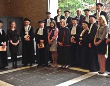 Ranchordas, Sofia: Tilburg University doctoral dissertation defense