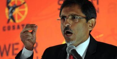 Patel talks